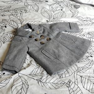 Old Navy grey infant pea coat